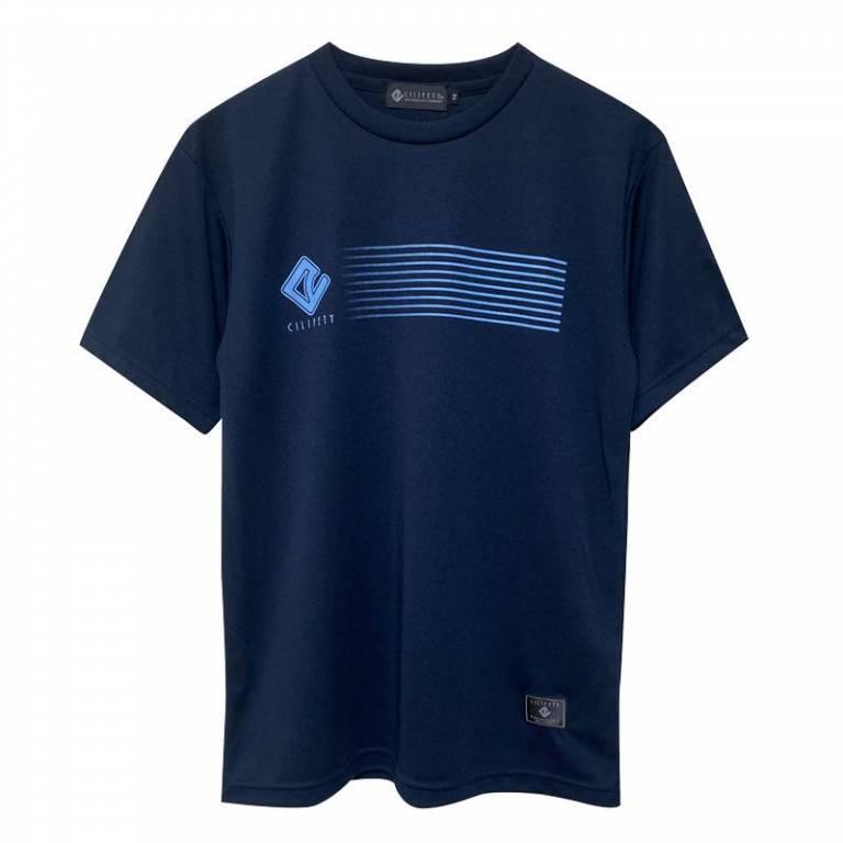 20200718224740692 ラインロゴプラtシャツ紺