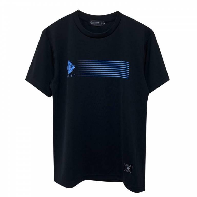 20200718224740826 ラインロゴプラtシャツ黒